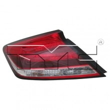 2014 -  2015 Honda Civic Rear Tail Light Assembly Replacement / Lens / Cover - Left (Driver) Side - (Coupe)