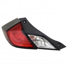 2016 - 2020 Honda Civic Tail Light Rear Lamp - Left (Driver)