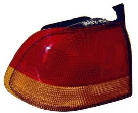 1996 -  1998 Honda Civic Rear Tail Light Assembly Replacement / Lens / Cover - Right (Passenger) Side - (4 Door; Sedan)