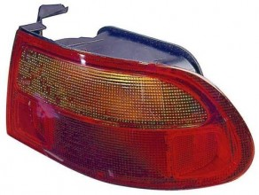 1992 -  1995 Honda Civic Rear Tail Light Assembly Replacement / Lens / Cover - Right (Passenger) Side - (3 Door; Hatchback)