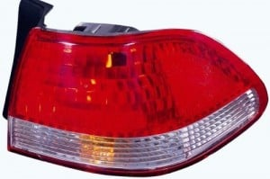 2001 -  2002 Honda Accord Rear Tail Light Assembly Replacement / Lens / Cover - Right (Passenger) Side - (4 Door; Sedan)