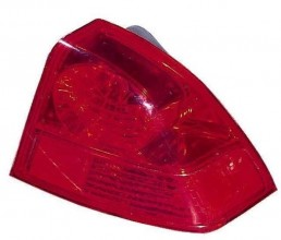 2003 - 2005 Honda Civic Rear Tail Light Assembly Replacement / Lens / Cover - Right (Passenger) Side - (4 Door; Sedan)