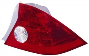 2004 - 2005 Honda Civic Rear Tail Light Assembly Replacement / Lens / Cover - Right (Passenger) Side - (2 Door; Coupe)