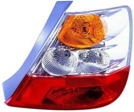 2004 - 2005 Honda Civic Rear Tail Light Assembly Replacement / Lens / Cover - Right (Passenger) Side - (3 Door; Hatchback)