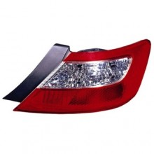 2006 - 2008 Honda Civic Rear Tail Light Assembly Replacement / Lens / Cover - Right (Passenger) Side - (2 Door; Coupe)