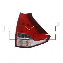 2012 - 2014 Honda CR-V Rear Tail Light Assembly Replacement / Lens / Cover - Right (Passenger) Side Lower