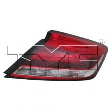 2014 -  2015 Honda Civic Rear Tail Light Assembly Replacement / Lens / Cover - Right (Passenger) Side - (Coupe)