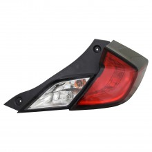 2016 - 2020 Honda Civic Tail Light Rear Lamp - Right (Passenger)