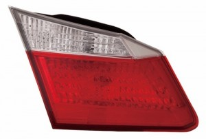 2013 -  2015 Honda Accord Rear Tail Light Assembly Replacement / Lens / Cover - Left (Driver) Side Inner (LX + EX + Sport)