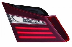 2016 Honda Accord Tail Light Assembly (NSF Certified) - Left (Driver) Side Inner - (Sedan) Replacement