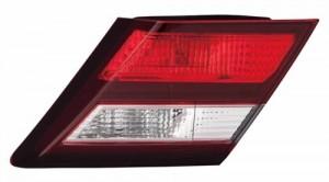 2013 - 2015 Honda Civic Rear Tail Light Assembly Replacement / Lens / Cover - Right (Passenger) Side Inner - (Sedan)
