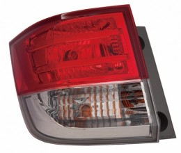 2014 -  2016 Honda Odyssey Rear Tail Light Assembly Replacement / Lens / Cover - Left (Driver) Side Outer