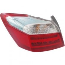 2014 -  2015 Honda Accord Rear Tail Light Assembly Replacement / Lens / Cover - Left (Driver) Side Outer - (Gas Hybrid)