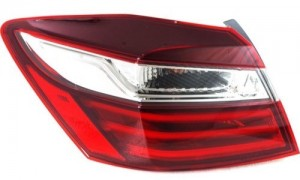 2016 Honda Accord Tail Light Assembly - Left (Driver) Side Outer - (Sedan) Replacement