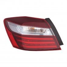2017 - 2017 Honda Accord Tail Light Rear Lamp - Left (Driver) (CAPA Certified)