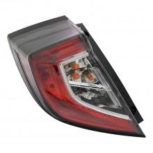 2017 - 2020 Honda Civic Tail Light Rear Lamp - Left (Driver)