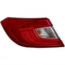 2018 - 2021 Honda Accord Tail Light Rear Lamp - Left (Driver) (CAPA Certified)