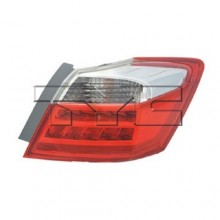 2013 -  2014 Honda Accord Rear Tail Light Assembly Replacement / Lens / Cover - Right (Passenger) Side Outer - (EX-L + Hybrid EX-L + Hybrid Touring + Touring)