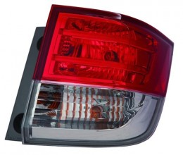 2014 - 2017 Honda Odyssey Rear Tail Light Assembly Replacement / Lens / Cover - Right (Passenger) Side Outer