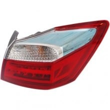 2014 -  2015 Honda Accord Rear Tail Light Assembly Replacement / Lens / Cover - Right (Passenger) Side Outer - (Gas Hybrid)