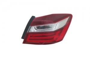 2016 Honda Accord Tail Light Assembly (NSF Certified) - Right (Passenger) Side Outer - (Sedan) Replacement