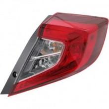 2016 - 2017 Honda Civic Tail Light Rear Lamp - Right (Passenger)