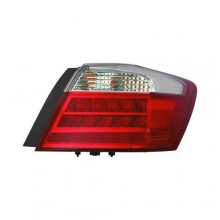 2015 - 2015 Honda Accord Tail Light Assembly (CAPA Certified) - Right (Passenger) Side Outer - (Touring 3.5L V6 Sedan + EX-L 3.5L V6, 2.4L L4 Sedan + Hybrid EX-L Sedan + Hybrid Touring Sedan) Replacement