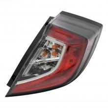 2017 - 2020 Honda Civic Tail Light Rear Lamp - Right (Passenger)