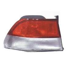 1999 -  2000 Honda Civic Rear Tail Light Assembly Replacement Housing / Lens / Cover - Left (Driver) Side - (2 Door; Coupe)