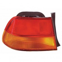 1996 - 1998 Honda Civic Rear Tail Light Assembly Replacement Housing / Lens / Cover - Left (Driver) Side - (2 Door; Coupe)