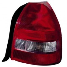 1999 -  2000 Honda Civic Rear Tail Light Assembly Replacement Housing / Lens / Cover - Left (Driver) Side - (3 Door; Hatchback)