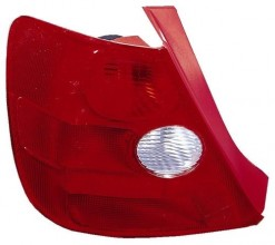 2002 Honda Civic Rear Tail Light Assembly Replacement Housing / Lens / Cover - Left (Driver) Side - (Si 3 Door; Hatchback)