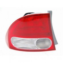 2009 - 2011 Honda Civic Rear Tail Light Assembly Replacement Housing / Lens / Cover - Left (Driver) Side - (Sedan)