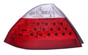 2006 - 2007 Honda Accord Rear Tail Light Assembly Replacement Housing / Lens / Cover - Left (Driver) Side - (Gas Hybrid)