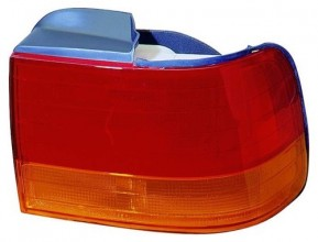 1992 -  1993 Honda Accord Rear Tail Light Assembly Replacement Housing / Lens / Cover - Right (Passenger) Side - (4 Door; Sedan + 2 Door; Coupe)