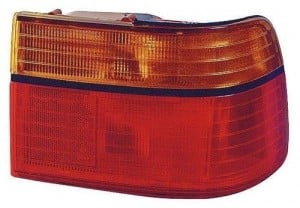 1990 -  1991 Honda Accord Rear Tail Light Assembly Replacement Housing / Lens / Cover - Right (Passenger) Side - (4 Door; Sedan + 2 Door; Coupe)
