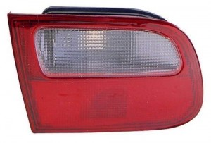 1992 -  1995 Honda Civic Rear Tail Light Assembly Replacement Housing / Lens / Cover - Right (Passenger) Side - (3 Door; Hatchback)