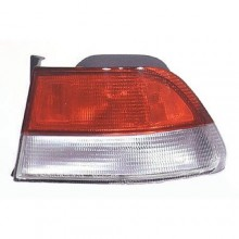 1999 -  2000 Honda Civic Rear Tail Light Assembly Replacement Housing / Lens / Cover - Right (Passenger) Side - (2 Door; Coupe)