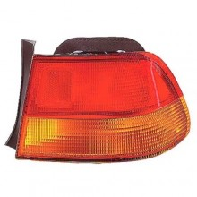 1996 -  1998 Honda Civic Rear Tail Light Assembly Replacement Housing / Lens / Cover - Right (Passenger) Side - (2 Door; Coupe)
