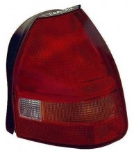1996 -  1998 Honda Civic Rear Tail Light Assembly Replacement Housing / Lens / Cover - Right (Passenger) Side - (3 Door; Hatchback)