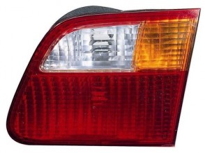 1999 -  2000 Honda Civic Rear Tail Light Assembly Replacement Housing / Lens / Cover - Right (Passenger) Side - (4 Door; Sedan)