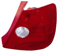 2002 Honda Civic Rear Tail Light Assembly Replacement Housing / Lens / Cover - Right (Passenger) Side - (Si 3 Door; Hatchback)