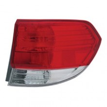 2008 -  2010 Honda Odyssey Rear Tail Light Assembly Replacement Housing / Lens / Cover - Right (Passenger) Side