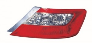 2009 -  2011 Honda Civic Rear Tail Light Assembly Replacement Housing / Lens / Cover - Right (Passenger) Side - (Coupe)