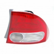 2009 - 2011 Honda Civic Rear Tail Light Assembly Replacement Housing / Lens / Cover - Right (Passenger) Side - (Sedan)