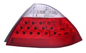 2006 -  2007 Honda Accord Rear Tail Light Assembly Replacement Housing / Lens / Cover - Right (Passenger) Side - (Gas Hybrid)