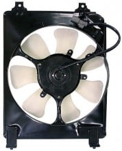 2006 - 2010 Honda Civic Engine / Radiator Cooling Fan Assembly Replacement