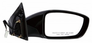 2011 Hyundai Sonata Side View Mirror Right Passenger Left