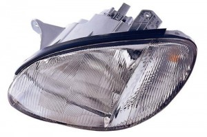 1999 -  2001 Hyundai Sonata Front Headlight Assembly Replacement Housing / Lens / Cover - Left (Driver) Side