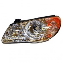 2007 -  2009 Hyundai Elantra Front Headlight Assembly Replacement Housing / Lens / Cover - Left (Driver) Side - (Sedan)